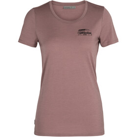 Icebreaker Tech Lite SS Low Crew Shirt The Good Life Women, suede